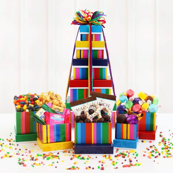 Birthday Bonanza Tower of Treats
