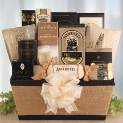 , 60 Decadent Premium Gift Baskets for Recipients with Exceptional Tastes