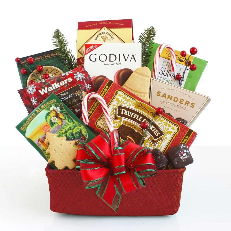 Holiday Gourmet Treats Gift basket